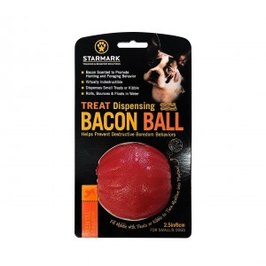 "Treat Dispensing Bacon Ball庐/ ""niepokonana bekonowa"""